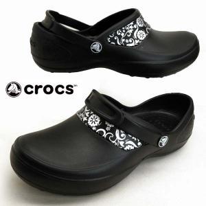 クロックス crocs Mercy Work Clog マーシー ワーククロッグ 10876-067 黒 サンダル レディース|masuya92