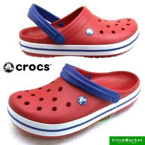 クロックス crocs Crocband 11016-6FT pepper/white クロックバンド クロッグ サンダル