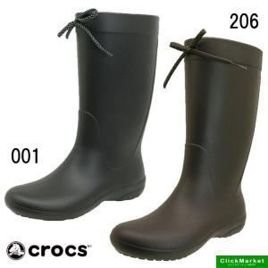 クロックス crocs freesail rain boot 203541-001 206 フリーセ...