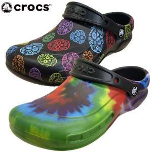 クロックス crocs bistro graphic clog 204044 0C4 988 ビストロ グラフィック クロッグ ワークサンダル メンズ|masuya92