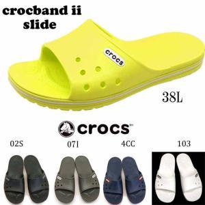 [36%OFF]クロックス crocs Crocband II Slide 204108 クロックバンド 2.0 スライド 02S 4CC 38L 07I 103 ビーチサンダル レディース/メンズ masuya92