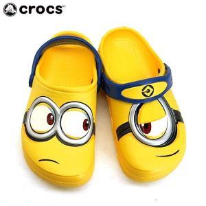 クロックス crocs Fun Lab Minions Clog 204113-730 ファン ラブ ミニオンズ クロッグ サンダル ベビー/キッズ|masuya92