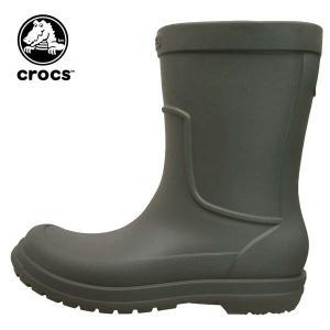 クロックス crocs allcast rain boot オールキャスト レイン ブーツ 204862-3m9 レインブーツ 長靴 メンズ|masuya92
