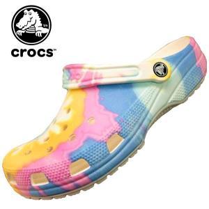 クロックス crocs classic tie dye graphic clog 205453-94s クラシック タイ ダイ グラフィック クロッグ サンダル レディース/メンズ|masuya92