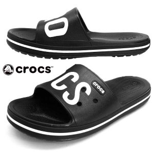 クロックス crocs crocband 3 printed slide 206003-066 黒 クロックバンド プリンテッド スライド シャワーサンダル レディース/メンズ|masuya92