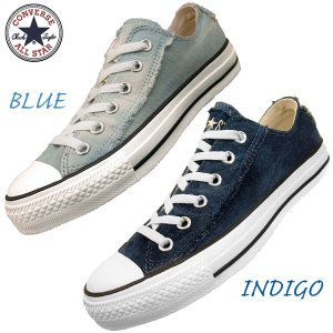 ■商品概要■ CONVERSE ALL STAR WORNOUT DENIM SLIP OX コンバ...