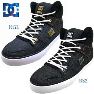 ディーシーシューズ DC Shoes PURE HIGH-TOP WC TX SE 191030 BS2 NGL ピュア ハイトップ テキスタイル スニーカー メンズ|masuya92