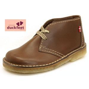 ダックフィート DUCKFEET チャッカ ブーツ チョコ 天然素材 0326-209 レディース/メンズ|masuya92