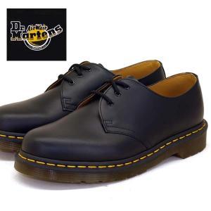 ドクターマーチン Dr.Martens 1461 Z 3EYE GIBSON 10085001 黒 3ホール イエローステッチ レディース/メンズ|masuya92