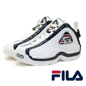 フィラ FILA GRANT HILL II F0313 グラント ヒル 2 96GL 白紺 ハイカット スニーカー メンズ masuya92