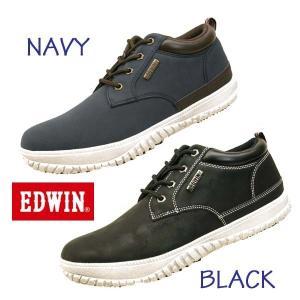 エドウィン EDWIN EDW- 7808 防水設計 ノンスリップソール カジュアル スニーカー メンズ|masuya92