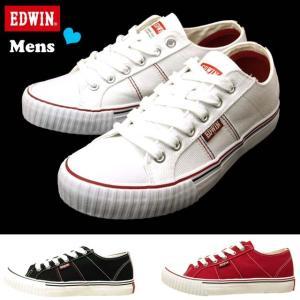 エドウィン EDWIN ED-700 キャンバス スニーカー ローカット 0700 メンズ|masuya92