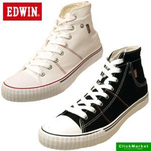 エドウィン EDWIN ED-701 キャンバス スニーカー ハイカット 0701 メンズ|masuya92