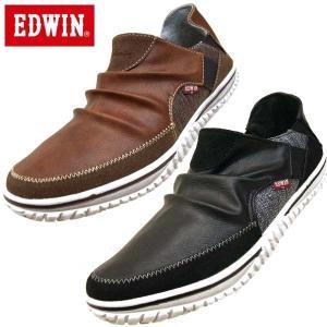 エドウィン EDWIN 7535 バブーシュ スリッポン ドライビングカジュアルシューズ メンズ|masuya92
