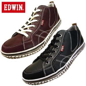 エドウィン EDWIN 7539 サイドゴア ステップインスニーカー メンズ|masuya92