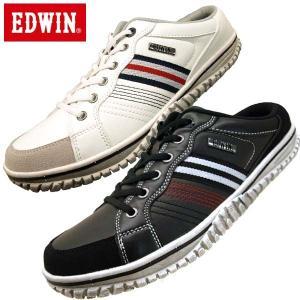 エドウィン EDWIN ED7637 クロッグ スリッポン スニーカー メンズ|masuya92