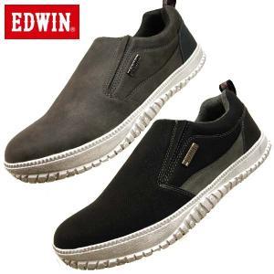 エドウィン EDWIN 7807 防水設計 軽量 スリッポン メンズ|masuya92