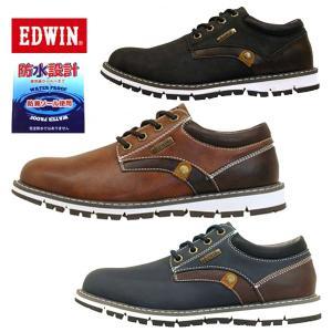 エドウィン EDWIN カジュアルシューズ EDW-7920 防水設計 メンズ|masuya92
