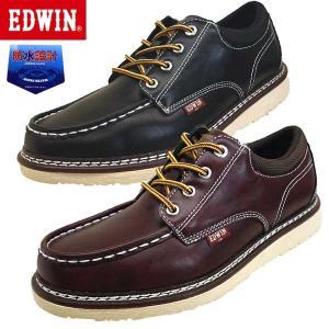 エドウィン EDWIN EDW- 7925 防水設計 ノンスリップソール カジュアル デッキシューズ メンズ|masuya92