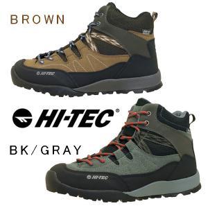ハイテック HI-TEC AORAKI MID WP トレッキングシューズ 登山靴 HT HKU10 防水 軽量 抗菌防臭 レディース/メンズ|masuya92