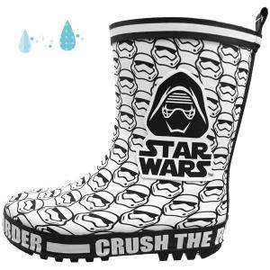 ディズニー スター・ウォーズ DISNEY STAR WARS 1063 白 レインブーツ 長靴 キッズ|masuya92