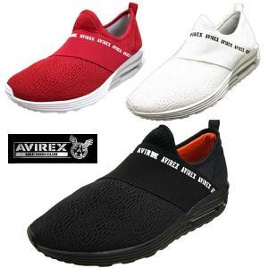 アビレックス AVIREX DETONATION 2252 デトネーション スリッポン エアークッション スニーカー メンズ|masuya92
