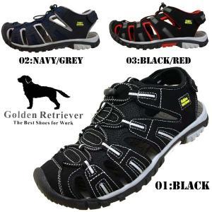 ゴールデン レトリバー Golden Retriever 7403 アウトドア スポーツサンダル メンズ masuya92