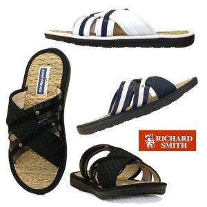 リチャードスミス RICHARD SMITH 9030 コンフォートサンダル スライドサンダル 草鞋 メンズ|masuya92
