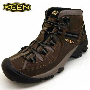キーン KEEN TARGHEE II MID WP 1008418 ターギー ツー ミッド ウォータープルーフ 濃茶 ハイキング トレッキング 防水 登山靴 メンズ masuya92