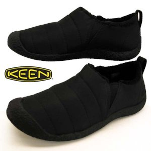 キーン KEEN HOWSER II 1011884 ハウザー II 黒スリッポン  スニーカー レディース masuya92