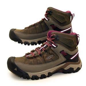 [30%OFF] キーン KEEN TARGHEE III MID WP 1018178 ターギー 3 ミッド ウォータープルーフ 濃茶 ハイキング トレッキング 防水 登山靴 レディース masuya92