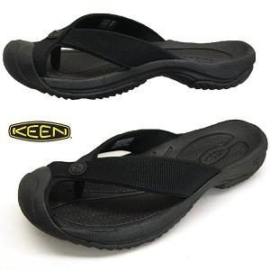 キーン KEEN WAIMEA H2 ワイメア エイチツー 1021157 TRIPLE BLACK/BLACK 黒 トング ビーチサンダル メンズ masuya92