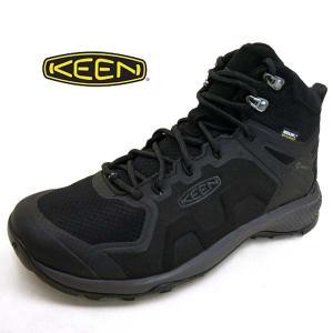 キーン KEEN EXPLORE MID WP エクスプロール ミッド1021602 ウォータープルーフ 黒 防水 ハイキングシューズ メンズ masuya92