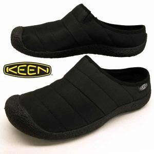 キーン KEEN HOWSER SLIDE ハウザー スライド 1021622 黒 サンダル メンズ masuya92