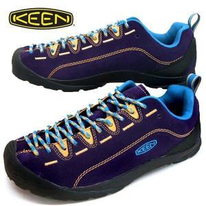 キーン KEEN JASPER ジャスパー スエード スニーカー 紫/黄 メンズ masuya92