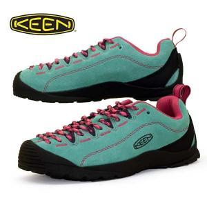 [30%OFF] キーン KEEN JASPER ジャスパー 1022820 Dusty Jade Green/Fuchsia Pink スエード スニーカー レディース|masuya92