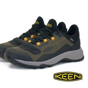 キーン KEEN TEMPO FLEX WP テンポ フレックス ウォータープルーフ 1024857 オリーブ 防水 登山靴 ハイキングシューズ メンズ|masuya92