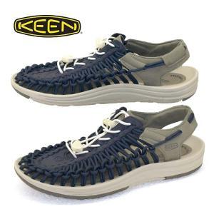 キーン KEEN UNEEK 1025174 ユニーク サンダル 防滑 アウトドア 紺 メンズ|masuya92