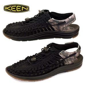 キーン KEEN UNEEK 1025176 ユニーク サンダル 防滑 アウトドア 黒 メンズ|masuya92