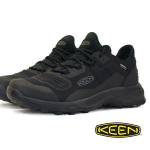 キーン KEEN TEMPO FLEX WP テンポ フレックス ウォータープルーフ 1025294 黒 防水 登山靴 ハイキングシューズ メンズ|masuya92
