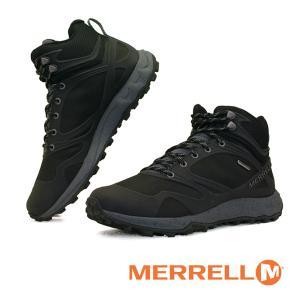 メレル MERRELL ALTALIGHT MID WATERPROOF J034187 オルタライト ミッド ウォータープルーフ 防水 軽量 黒 ハイキング メンズ|masuya92