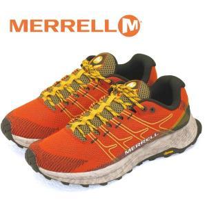メレル MERRELL MOAB FLIGHT モアブ フライト 066741 橙 トレイルランニング 登山靴 メンズ|masuya92
