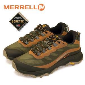 メレル MERRELL MOAB SPEED GTX モアブ スピード ゴアテックス 066773 オリーブ 防水 透湿 登山靴 トレッキング メンズ|masuya92