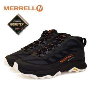 メレル MERRELL MOAB SPEED MID GTX モアブ スピード ミッド ゴアテックス 135409 黒 防水 透湿 登山靴 トレッキング メンズ|masuya92