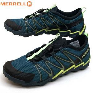 メレル MERRELL TETREX テトレックス J18483 ウォーターシューズ 緑 メンズ|masuya92