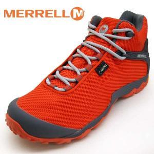メレル MERRELL CHAMELEON 7 STORM MID GORE-TEX 31127 カメレオン 7 ストーム ミッド ゴアテックス 防水 橙 メンズ|masuya92