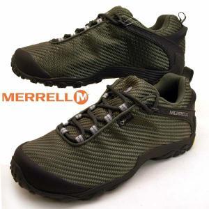 メレル MERRELL CHAMELEON 7 STORM GORE-TEX 31133 カメレオン 7 ストーム ゴアテックス 防水 オリーブ メンズ|masuya92