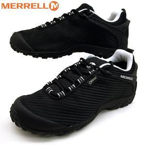 メレル MERRELL CHAMELEON 7 STORM GORE-TEX 36475 カメレオン 7 ストーム ゴアテックス 防水 黒 メンズ|masuya92