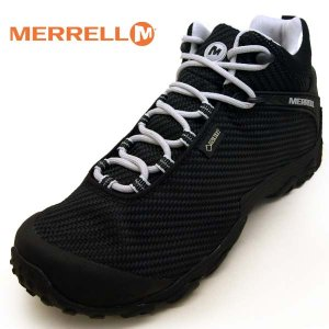 メレル MERRELL CHAMELEON 7 STORM MID GORE-TEX 38559 カメレオン 7 ストーム ミッド ゴアテックス 防水 黒 メンズ|masuya92