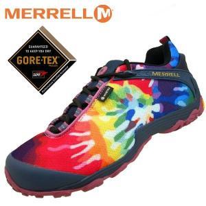 メレル MERRELL CHAMELEON7 STORM GORE-TEX PRINT GTX 599645 カメレオン 7 ストーム ゴアテックス プリント 防水 メンズ|masuya92